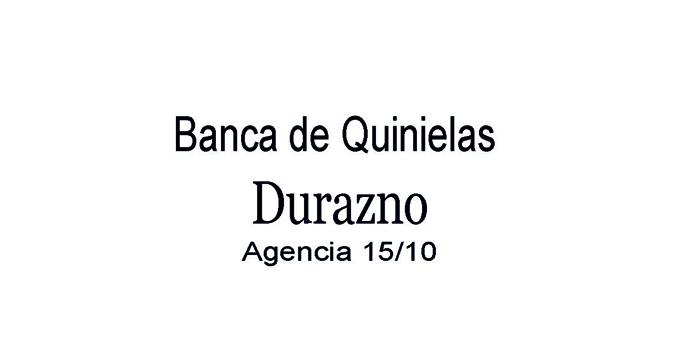 Banca de Quinielas  Durazno