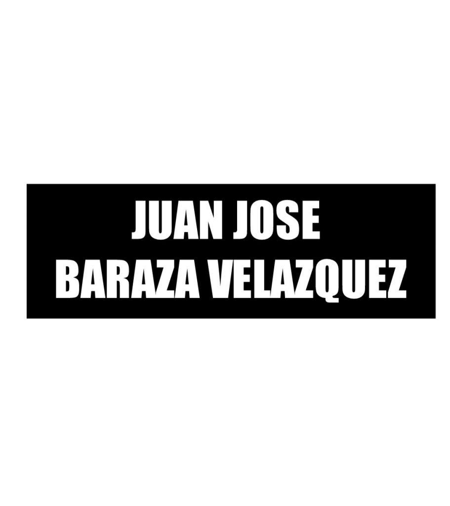 JUAN JOSE BARAZA VELAZQUEZ