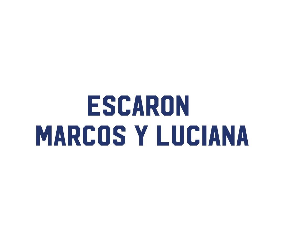 Escaron Marcos y Luciana