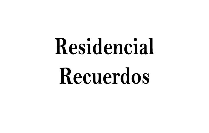 Residenciales Recuerdos