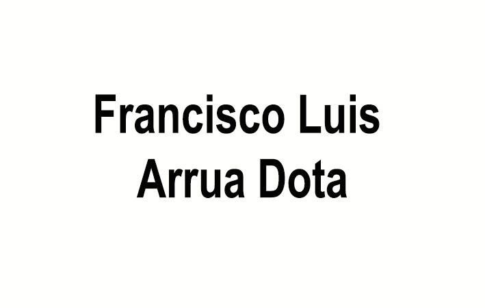 Francisco Luis Arrua Dota