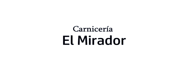 EL MIRADOR CARNICERÍA