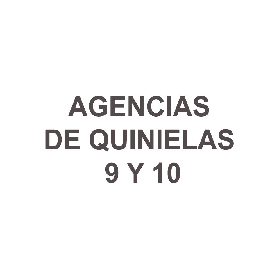 AGENCIAS DE QUINIELAS 9 Y 10