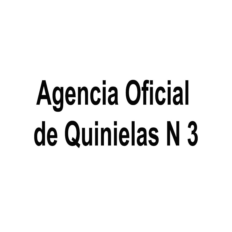 Agencia Oficial de Quinielas N 3