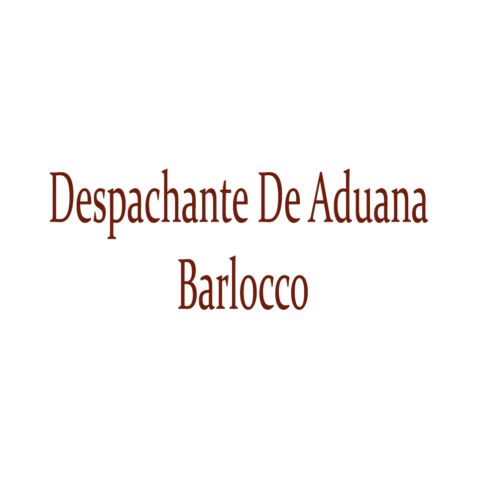 Despachante De Aduana Barlocco